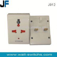J912 travel plug universal multi plug sockets male to male electrical plug adapter