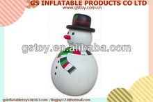 PVC christmas decoration inflatable snowman sale EN71 approved