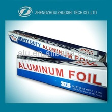 household use aluminum foil paper for food packing and cooking with color box packing