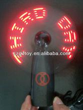 Flash what you like mini flashing fan