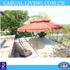 10ft Cantilever Patio Garden Offset Umbrella Hanging Market Olefin Terra New