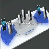 Hot sale acrylic mobile phone rack display
