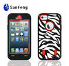 3 in 1 OEM hard case for iphone 5/good design phone case for iphone 5 paypal accepted
