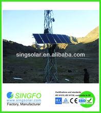 solar power generator 100w wth bracket wheels