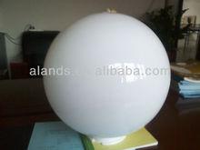 decorative acrylic balls white