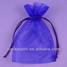 2014 printed drawstring Organza Bags,Organza Gift Bag for weddings