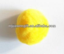 DIY toys Acrylic plush yellow pom poms