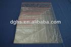 Transparent zipper bag /Resealable bag