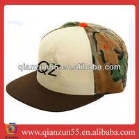 army print cap uniform custom design camp cap custom snap back acrylic hat for promotion