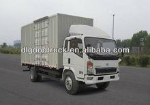 HOWO mini box van truck 008615826750255 (Whatsapp)