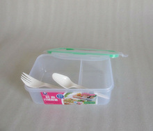 Plastic Lunch Box with locks