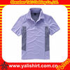 OEM popular cheap breathable contrast color polyester short sleeve dri fit polo shirts wholesale