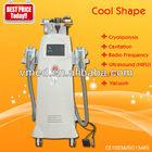 price Cavitation machine+Monopolar RF+Tripolar RF+Vacuum liposuction system