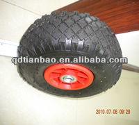 dubai Turkey wheel barrow rubber wheel 350-7 Small wheels