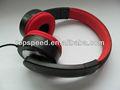 shenzhen moda de alta calidad estéreo de auriculares discoteca silenciosa con tela de auriculares cables