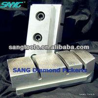 Metal Bond Diamond Grinding Fickert For Stone Polishing