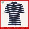 Classical stripes men's polo shirts, Blue and white striped polo t shirt ,Plus size men polo t shirt