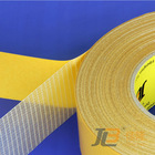 DOUBLE-SIDED FIBERGLASS MESH CLOTH TAPE JLW-303C reinforced transfer tape ;extremely high adhesion ;used as sealing strips