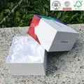 Nouveaux produits 2014 custom made boîte en carton blanc avec le logo imprimé prix d'usine en gros