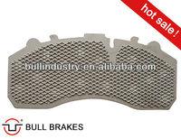 Truck Brake Pad Steel Backing Plate WVA 29087 For Mercedes benz