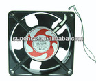 Impedence protected 4 inch cooling fan