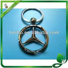 Benz logo Metal keychain