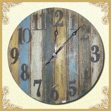 2014 HOT SALE!!! Retro wooden wall clock
