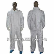 Azul desechable / SMS desechable no tejido sobretodo / no tejido sobretodo de la fábrica