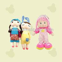 cartoon beautiful girl doll toys plush doll toys
