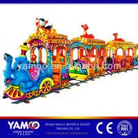 Amusement rides track train/electric train/mini train for family