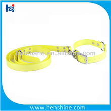 Discount PVC dog collars and leashes
