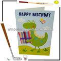 campione cartone animato compleanno invito carta per i bambini