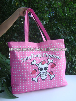 Eco recycle polyester shopping bag one piece shopping bag