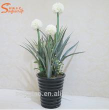 Artificial flower Allium silk plant ball garden decoration Artificial Plant Wedding decoration cheap wholesale