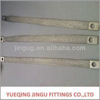 JINGU customized flexible copper braided earth bonding leads
