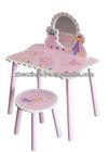 Wooden Cartoon Fairy Vanity dressing table mirror price