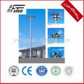Estádio de postes de luz, aço galvanizado postes deiluminação