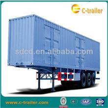 Heavy duty trucks, box truck trailer,van semi trailer 3 axles