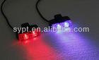 Visor LED blue/red warning light-- 8x2 - Epistar led
