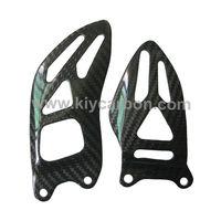Carbon fiber heel plates motorcycle parts for Suzuki gsxr1000 fairing