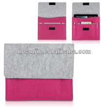 Wool Felt tablet case for ipad Fashionable&Personality&Shockproof