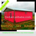 中国黒龍江hengxin低コストの生活鋼構造プレハブコンテナハウスコンテナホーム/コンテナオフィス