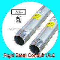 hot dip galvanized rigid carbon steel