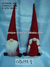 2015 new trend Christmas Decoration-fabric christmas gift