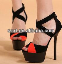 2014 fashion high heel shoes girls high heel shoes size 2 XT08 -S102106