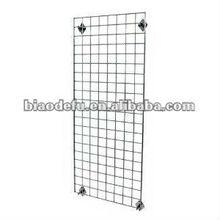 Multi-purpose wire mesh /grid wall