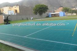 O-01 Outdoor Interlocking Plastic Basketball Floor Tiles