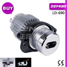 high power 6W Angel eyes led lighting for E90