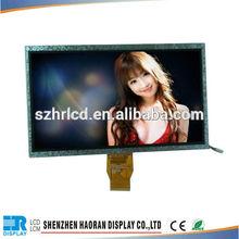 "lcd 10.1"" 1024x600 resolutions TFT lcd display module"