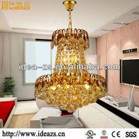 antique prism crystal chandelier table lamp
